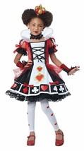 California Costumi Lusso Regina di Cuori Alice Bambino Costume Halloween... - $40.21