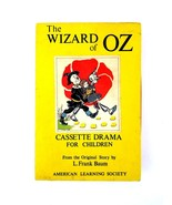 The Wizard of OZ Cassette Drama for Children by L. Frank Baum American L... - $14.95