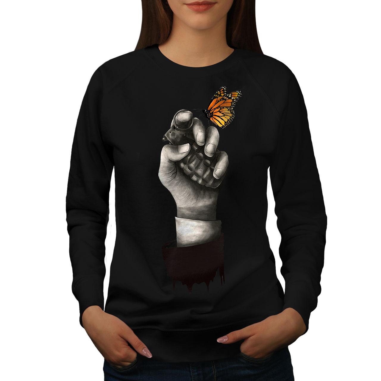 Bombs Butterfly Fantasy Jumper  Women Sweatshirt - $18.99