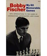My 60 Memorable Games Bobby Fischer - $12.86