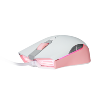 Geekstar GM900 3325 Wired Gaming Mouse 6-Step DPI Weight Switch (White Pink) image 2