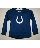 NFL Team Apparel COLTS Girls size S Small 6/6x Sweater Long Sleeve Blue New - $11.40