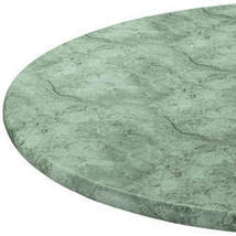 """Marbled Elasticized Table Cover-42"""" x 68"""" Oval/Oblong-Green - $28.73"""