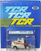 1978 Ideal TCR Racing Rig WHITE T10 Slot Less Car 3268-0 NewOldStock on Card - $74.24