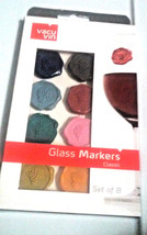 Vacu Vin Wine Seal Markers Charms Stick to Glass Merlot Pino Chardonnay ... - $4.75