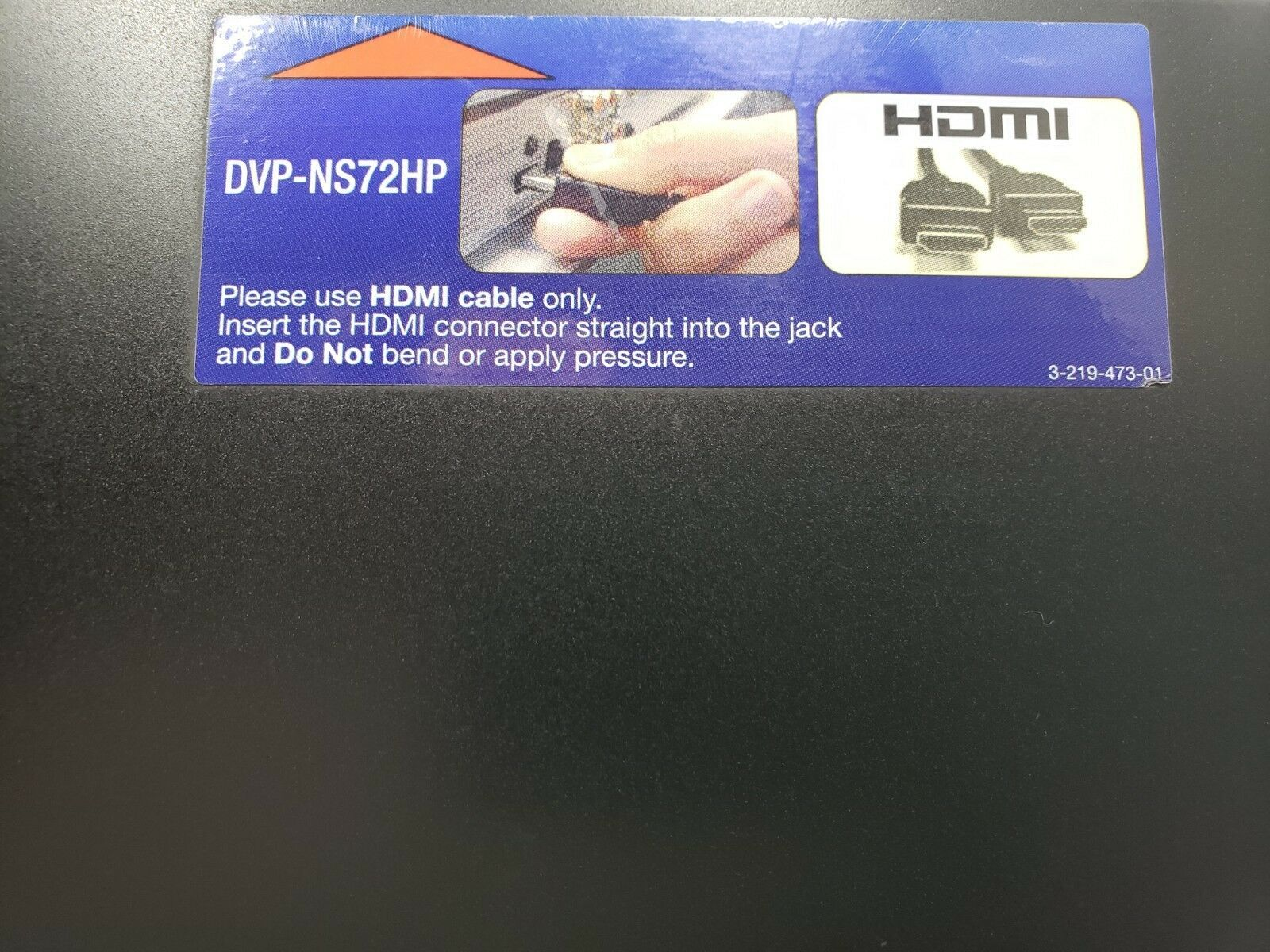Sony HDMI DVD Player DV-NS72HP...With Remote...Tested image 5