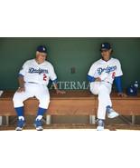 Vin Scully Don Mattingly LA Dodgers EOS Vintage 8X10 Color Baseball Photo - $6.99