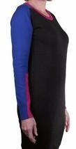 Bench Black Blue Fuchsia 100% Cotton Portch Casual Sweater Dress BLSA1525 NWT image 2