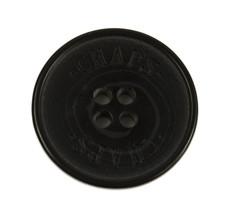 """Chaps Ralph Lauren Black Plastic Replacement Main Front button .90"""" - $3.91"""