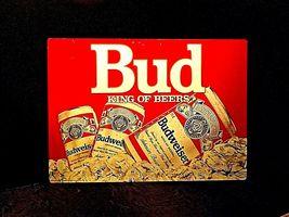 Vintage Bud King of Beers SignAA19-1437 image 4