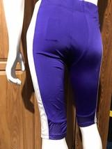 Football Pants Nike Purple w/ White Mesh Stripe Size Large Game NWT Stock - $14.84