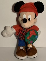 Mickey Mouse Plush Holiday Friend Christmas Musical Lights Fisher Price ... - $24.99