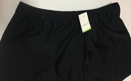 Croft & Barrow Activity Swimwear Skirt 18W Black image 3