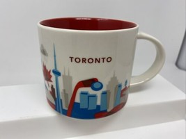 Starbucks Toronto You Are Here Collection Coffee Mug 14 Oz 2017 YAH Cup - $22.76