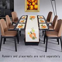Grelucgo Halloween and Thanksgiving Holiday Table Runners, Fall Autumn Harvest D image 3