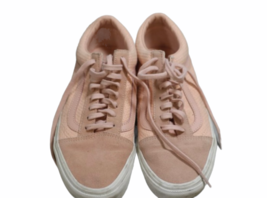 Authentic Women Pink Vans Size 8.5 Shoes Sneakers Ward Low Top Lace UP image 1