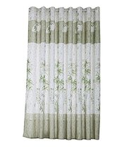 PANDA SUPERSTORE Beautiful Bamboo Polyester Privacy Hanging Curtain Valance for