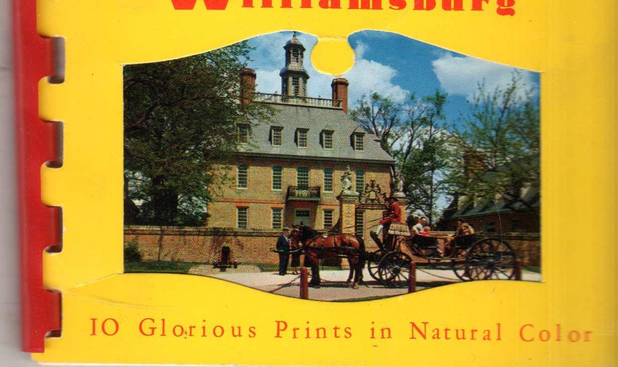 Primary image for Williamsburg Virginia - 10 Color picture