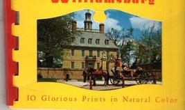 Williamsburg Virginia - 10 Color picture  - $4.95