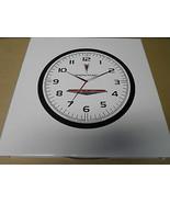 Pontiac GTO G6 G8 Firebird Quartz Licensed GM Black White Wall Clock - $24.77