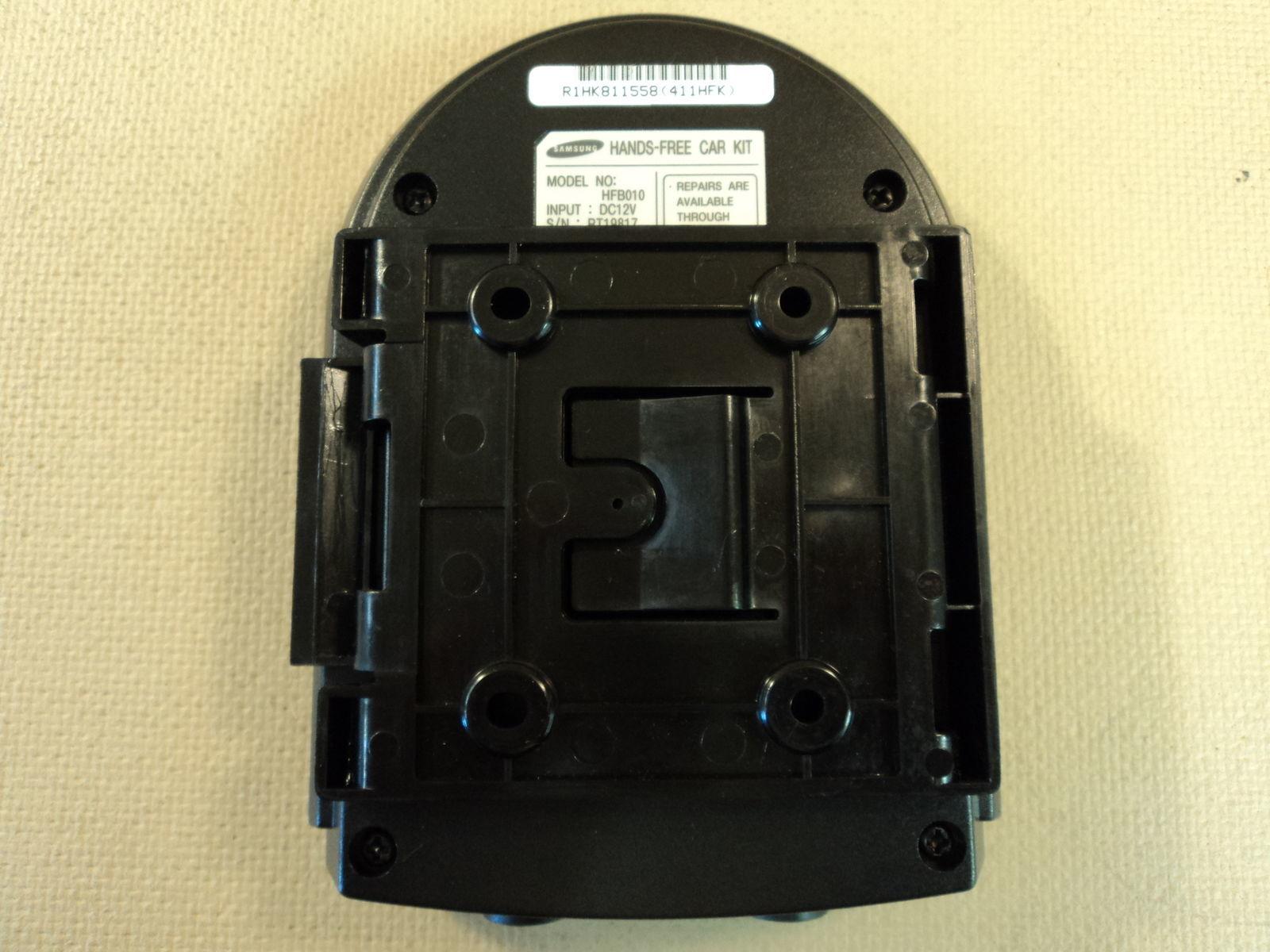 Samsung Hands Free Car Kit With Speaker Black Phone Cradle HFB010