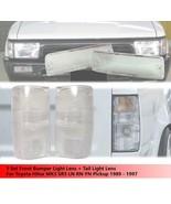 Front Bumper Light Lens + Tail Light Clear Lens For Toyota Hilux MK3 SR5 LN - $29.85