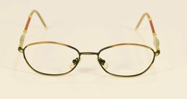 Fossil DURANGO Brown Metal Eyeglass Frames Designer Style Rx Eyewear - $9.12