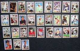 1992 Topps Micro Mini Baltimore Orioles Team Set of 30 Baseball Cards - $3.99
