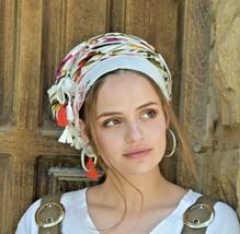 Amazing Soft Joyful Headscarf TICHEL, Hair Snood, Head Scarf, Head Cover... - $42.47