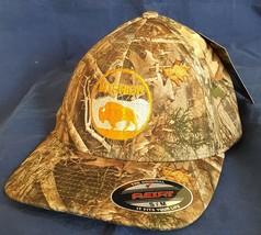 DOI Department of the Interior Bison Bright Logo Embroidered CAMO FlexFi... - $37.49