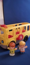 Fisher-Price Little People Sit with Me School Bus Lights and Sounds - $12.00
