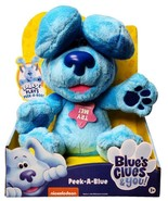 New Blue's Clues & You Peek-A-Boo Blue Interactive Plush Toy - $49.45