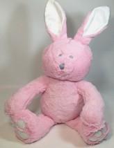 Triboro Quilt Plush Pink Bunny Rabbit Soft Stuffed Animal Toy Sewn Eyes ... - $18.00