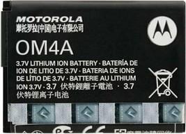 Original OEM Standard Battery OM4A for Motorola Gleam EX210 EX212 EX211 WX180 - $14.84