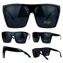b197cfb961 SA106 Mens Extra Large All Black Mad Dog Gangster Hip Hop Rapper Sunglasses  - £7.73