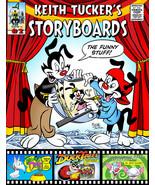 Keith Tucker's Storyboard Sketchbook #02 with original KT quick sketch - $30.00