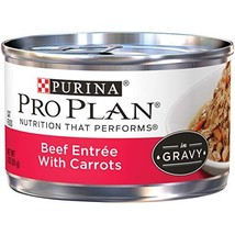 Purina Pro Plan Gravy Wet Cat Food Beef Entree With Carrots - 24 3 oz. P... - $31.49