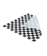 "1000 Pack - 12"" x 12"" Black Checked Deli Sandwich Wrap Paper Sheets - $49.40"
