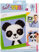 Sew Cute! Needlepoint Kit-Paul Panda (Pack of 3) - $29.00
