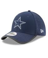 Dallas Cowboys New Era 39Thirty Official NFL Issue Training FlexFit L/XL... - $27.20