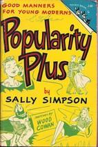 (J-44 Pocket Book Jr.) Popularity Plus by Sally Simpson - $4.14