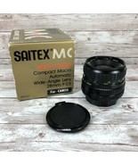 SAITEX MC 28mm f/2.8 Multi Coated Wide Angle Lens for Canon Made In Japan - $49.45