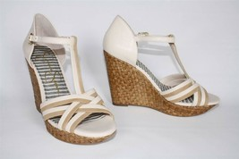 Womens Jessica Simpson CALISTA T-Strap Platform Wedge Sandal Nude Combo ... - $44.99