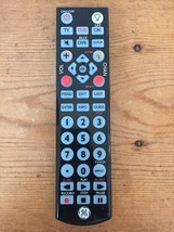General Electric GE Universal TV DVD DVR CBL Remote Control RC24116-B 1031 Black - $7.99