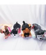 4 Puppy Dog Plush Stuffed Animals NEW Easter - $18.21