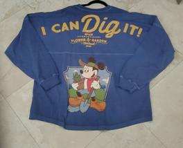 Passholder Spirit Jersey Mickey I Can Dig It 2021 Epcot Flower & Garden XL - $98.99