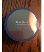 Birch and Argan Body butter 8 ounce Bath & Body Works Pure Argan Oil Alo... - $14.98