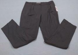 M65 New Nwt $99 Michael Kors Polyester Gray Pleated Dress Work Pants Women's 10 - $49.45