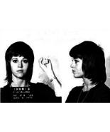 New JANE FONDA MUG SHOT GLOSSY POSTER PICTURE PHOTO Mugshot Activist Vie... - $12.99