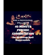 Hire A Professional Spell Caster Spell Casting Consultation Psychic Assessment - $40.00